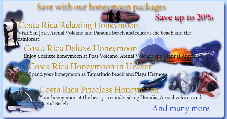 Costa Rica Honeymoon Packages