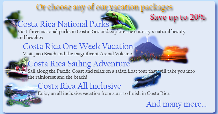 Costa Rica Honeymoon Costa Rica Vacation Packages - Costa rica tour packages